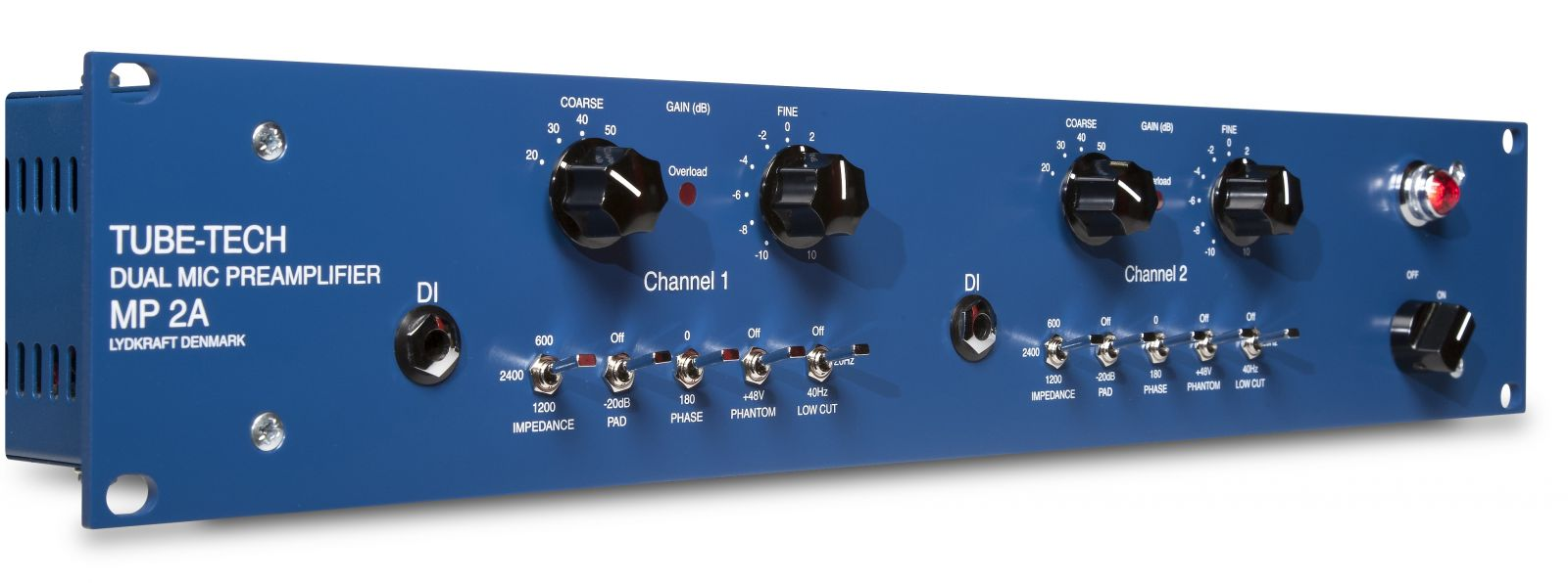 MP2A Dual Mic Preamplifier and DI – TUBE-TECH